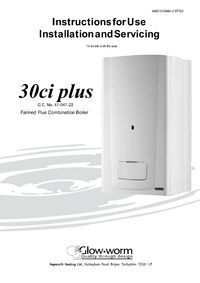 13 electrical connection   glow-worm 30ci plus user manual   page.