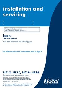 Ideal icos system he15 user manual pdf download.