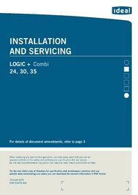 logic + comb 30 installation and servicing guide � view manual