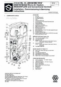 Boiler Manuals: Johnson and Starley J25-32 Mk3 on