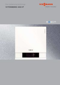 boiler manuals viessmann vitodens 222 f fs2a 26kw. Black Bedroom Furniture Sets. Home Design Ideas