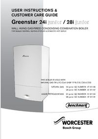 Greenstar 28i junior timer instructions