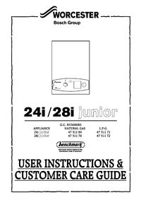 Boiler manuals worcester 24i junior ng 24i junior user guide view manual cheapraybanclubmaster Images